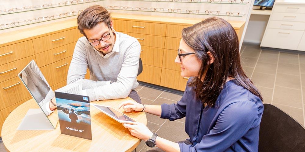 Optiker Waldegg Brillen und Varilux Beratung